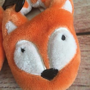 Shoes - Fuzzy Fox Slippers toddler size 6
